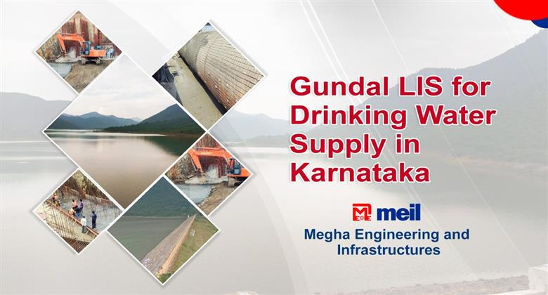 Gundal LIS for Drinking Water Supply in Karnataka | Megha Engineering and Infrastructures Ltd [BPI]