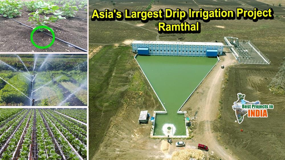 Asia's largest Drip Irrigation Project Ramthal