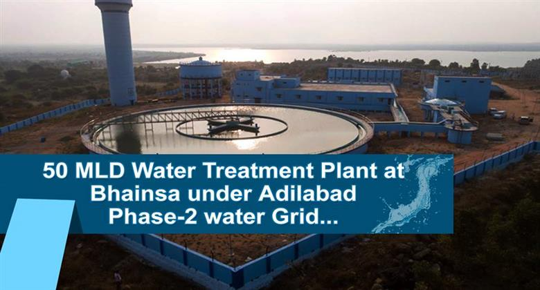 Water Treatment Plant at Bhainsa