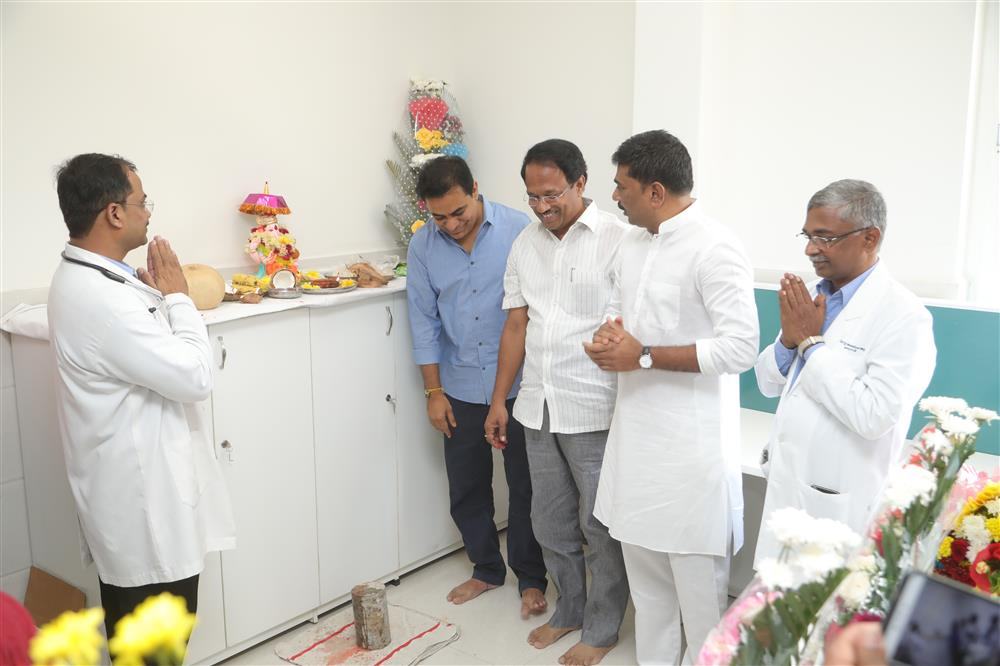 KTR inaugurates world-class cancer centre at NIMS