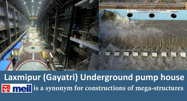 Laxmipur (Gayatri) Underground pump house Wet Run Success