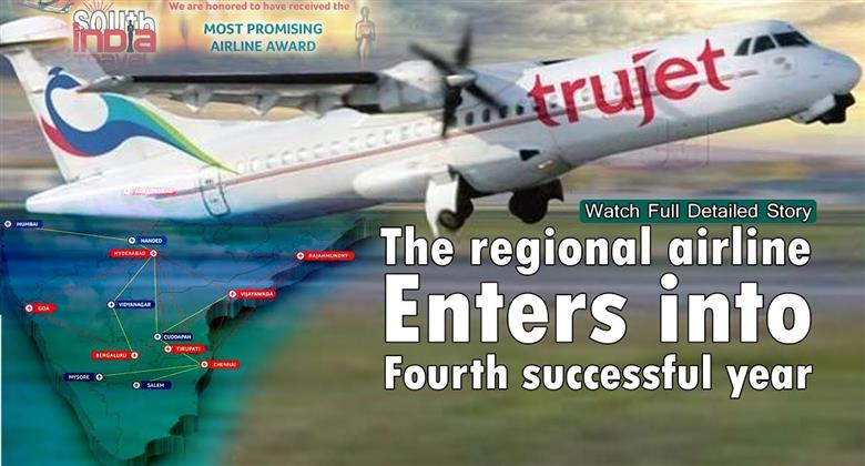 Trujet Airlines turns three Most Promising Airline 2018