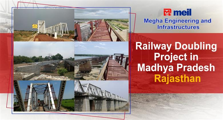 Railway Doubling Project in Madhya Pradesh - Rajasthan | Best Projects In India