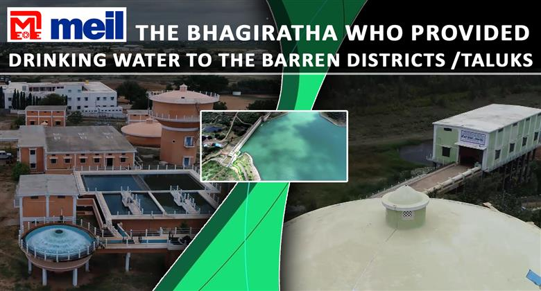 Hiriyur-Challakere Drinking Water Project is implemented successfully