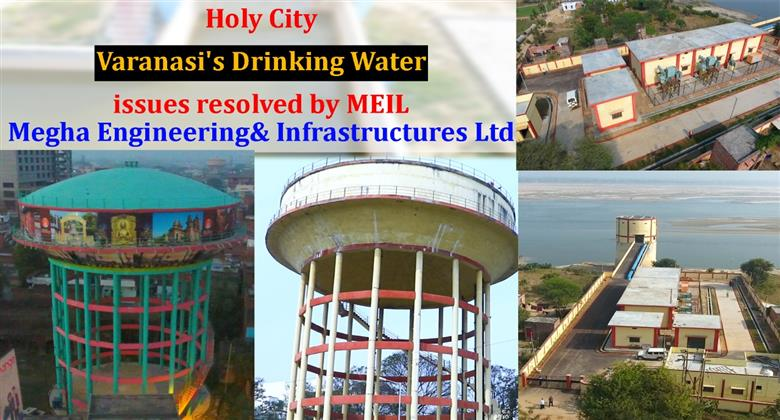 Holy city Varanasi's drinking water issues resolved by MEIL