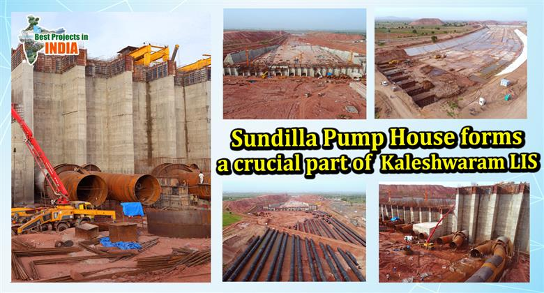 Sundilla Pump House Forms a Crucial Part of Kaleshwaram LIS